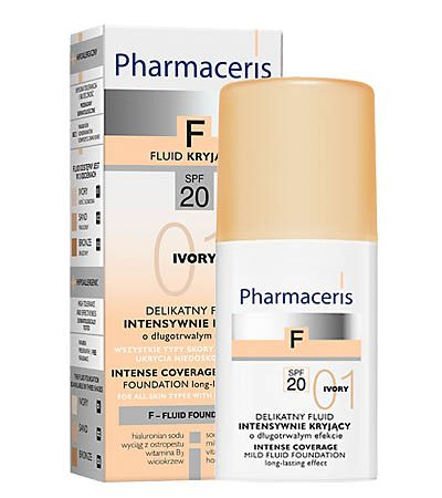 PHARMACERIS F,SPF20(Nr.1) 30ml intens.dengianti mask.pudra