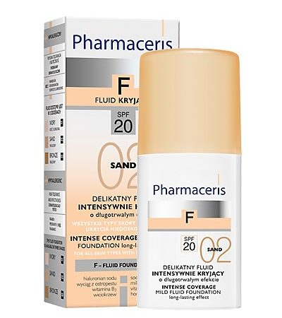 PHARMACERIS F,SPF20(Nr.2) 30ml intens.dengianti mask.pudra