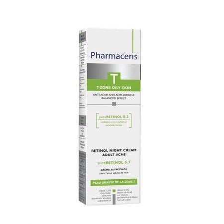PHARMACERIS T, Pure Rethinol-naktinis kremas, 40ml (dėž.)