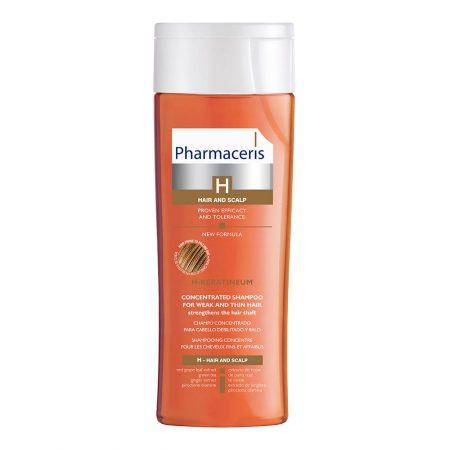 PHARMACERIS H, Keratineum-stiprinamasis šampūnas, 250ml
