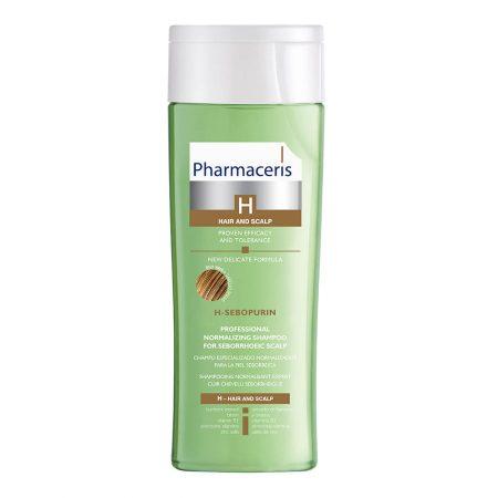 PHARMACERIS H, Sebopurin-šampūnas seborėjiniam dermatitui, 250ml