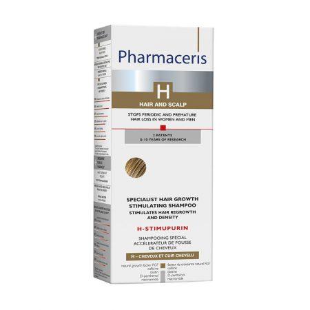 PHARMACERIS H, Stimupurin-augimą skatinantis šampūnas, 250ml (dėž.)