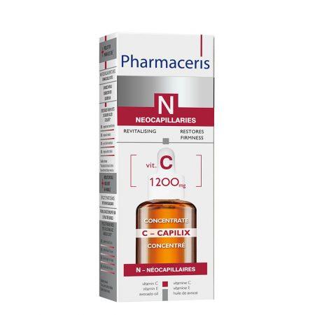 PHARMACERIS N, C Capilix-stiprinamasis serumas su vit. C, 30ml (dėž.)