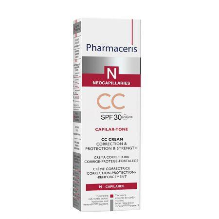 PHARMACERIS N, Capilar Tone-CC kremas, SPF30, 40ml (dėž.)