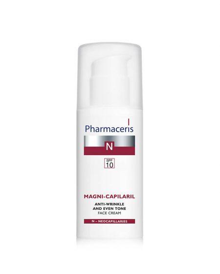 PHARMACERIS N, Magni Capilaril-kremas nuo raukšlių, SPF10, 50ml