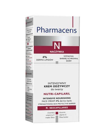 PHARMACERIS N, Nutri Capilaril-maitinamasis kremas, 50ml (dėž.)