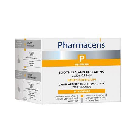PHARMACERIS P, Body ichtilium-maitinamasis kremas kūnui, 175ml (dėž.)