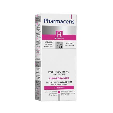 PHARMACERIS R, Lipo Rosalgin-raminamasis kremas, SPF15, 30ml (dėž.)