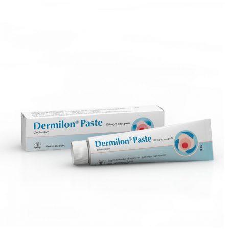 Dermilon Paste (Pakuotė ir tūbelė)
