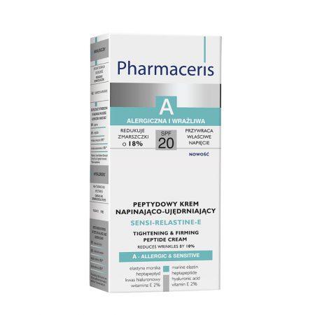 PHARMACERIS A, Sensi Relastine E-stangrinamasis kremas, SPF20, 50ml (dėž.)