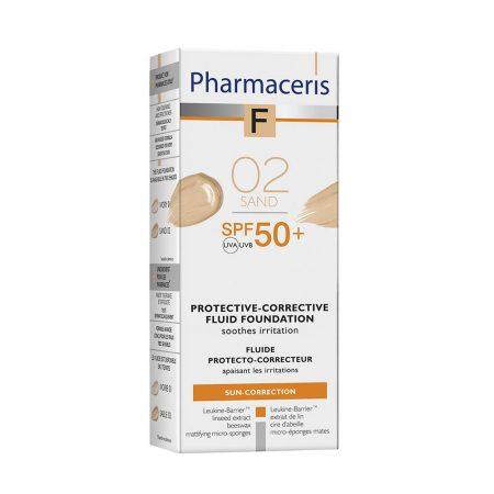 PHARMACERIS F, Protective Corective-apsauginė pudra nr. 2, SPF50, 30ml (dėž.)