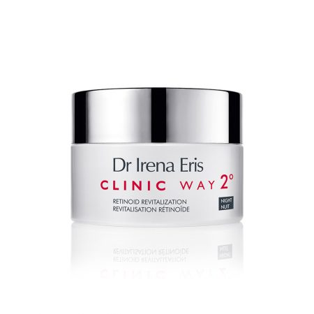 Clinic Way, Nr.2 gyvybingumo suteikiantis naktinis kremas su retinoidais