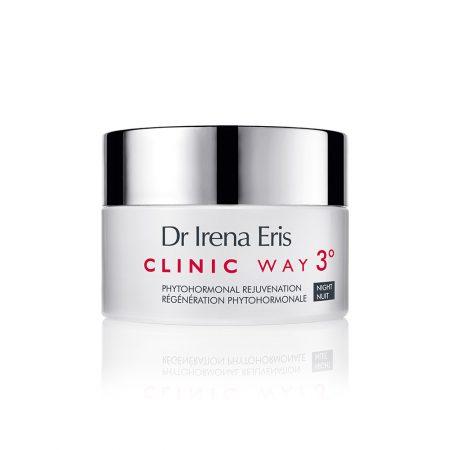 Clinic Way, Nr.3 jauninantis naktinis kremas su fito-hormonais