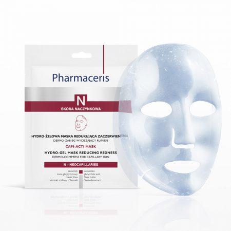 PHARMACERIS N, Capi-Acti Mask, lakštinė kaukė 1